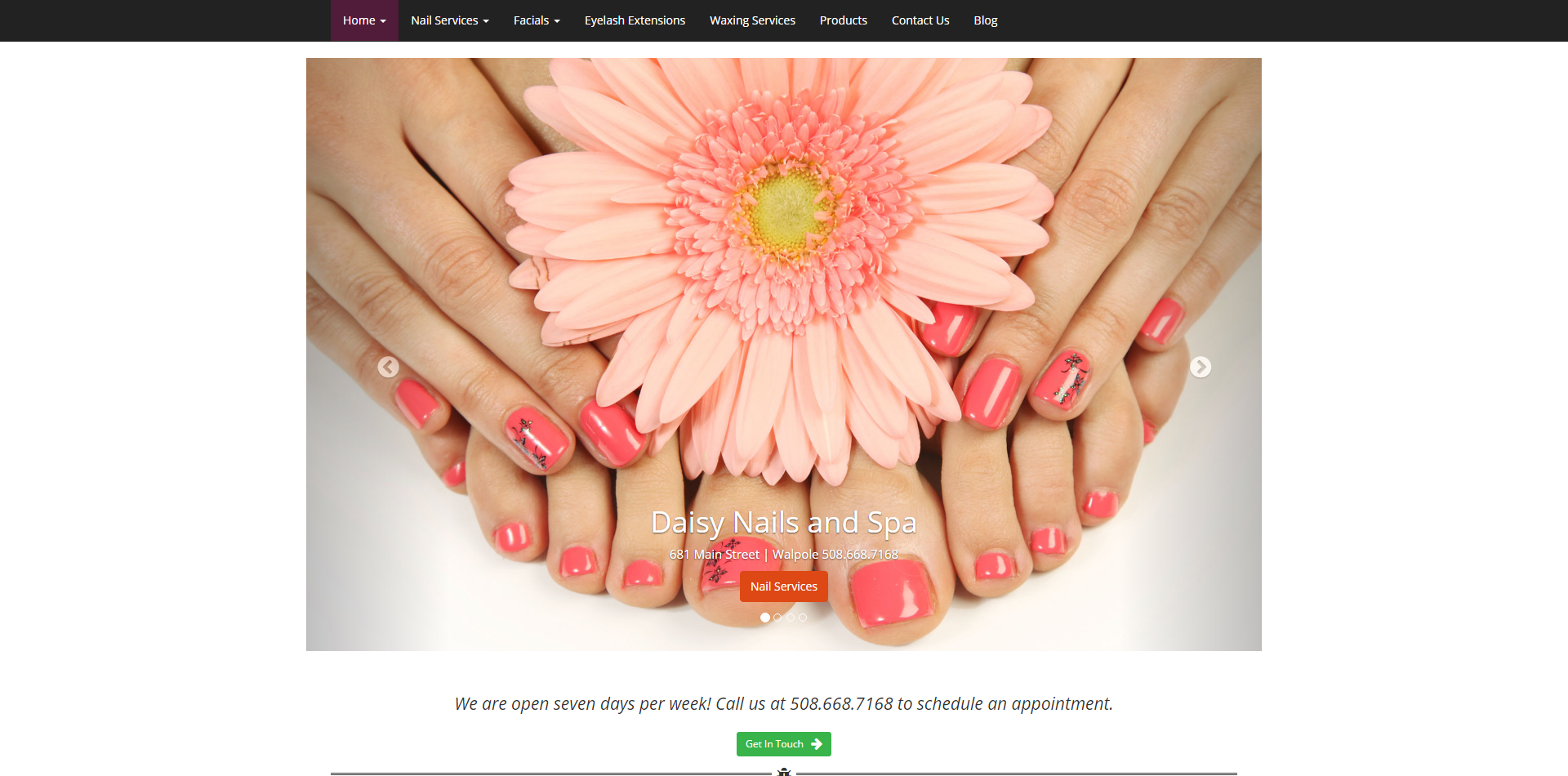 Daisy Nails and Spa - Invoke Media Group